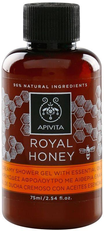 Apivita Royal Honey gel cremos pentru dus cu uleiuri esentiale