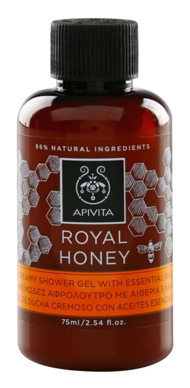 Apivita Royal Honey gel douche crème aux huiles essentielles