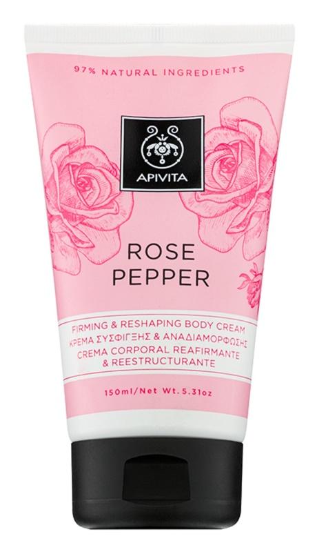 Apivita Rose Pepper crema remodeladora para el cuerpo