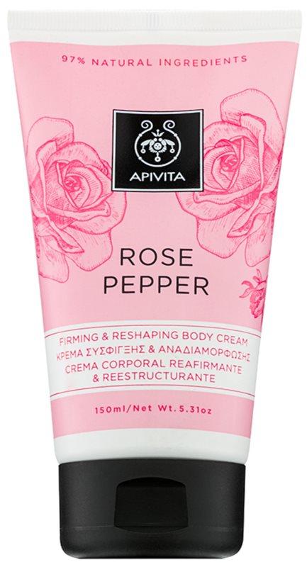 Apivita Rose Pepper formázó krém testre