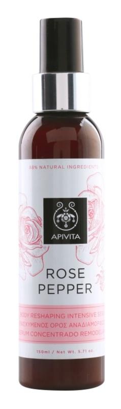 Apivita Rose Pepper intensives, festigendes Serum gegen Zellulitis