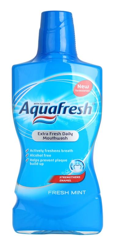 Aquafresh Fresh Mint apa de gura pentru o respiratie proaspata