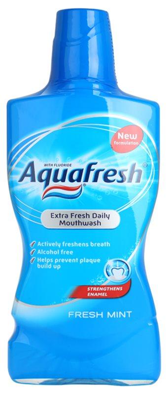 Aquafresh Fresh Mint Mundwasser für frischen Atem