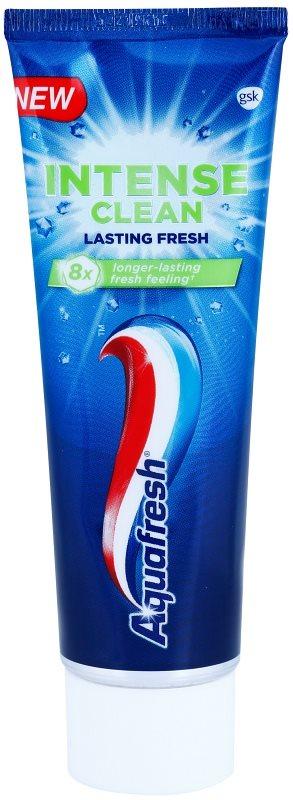 Aquafresh Intense Clean Lasting Fresh dentifrice pour une haleine fraîche