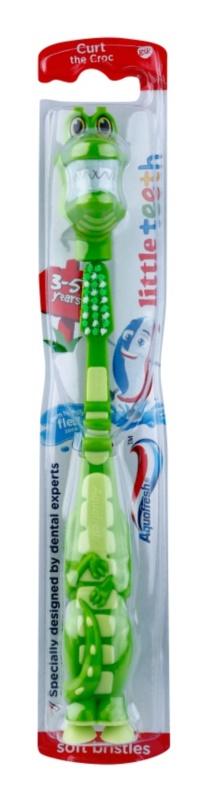 Aquafresh Little Teeth escova de dentes para crianças
