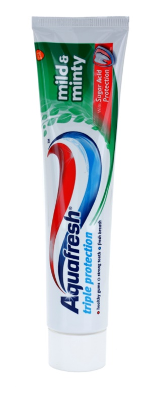 Aquafresh Triple Protection Mild & Minty dentífrico