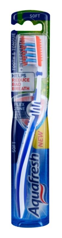 Aquafresh Tooth & Tongue brosse à dents soft