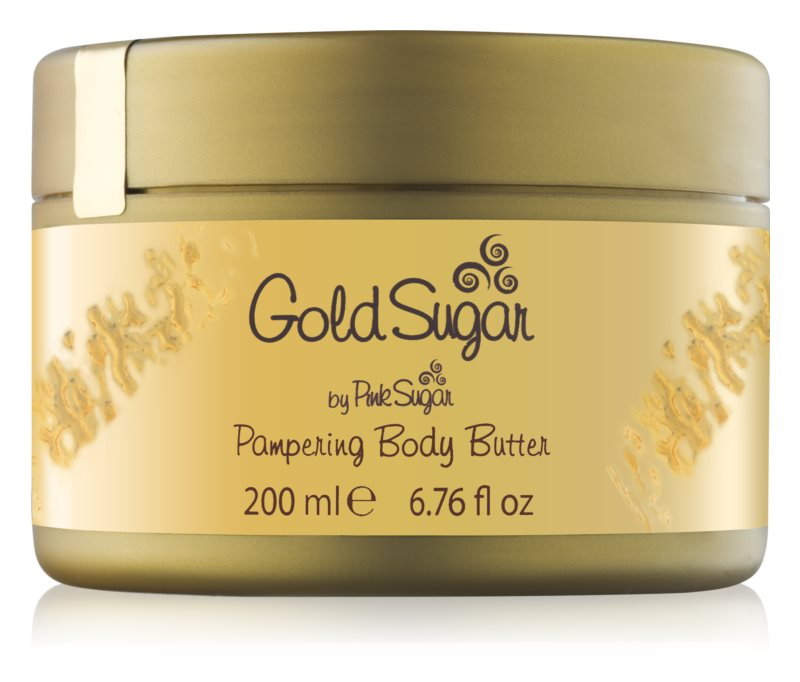 Aquolina Gold Sugar krema za telo za ženske 200 ml