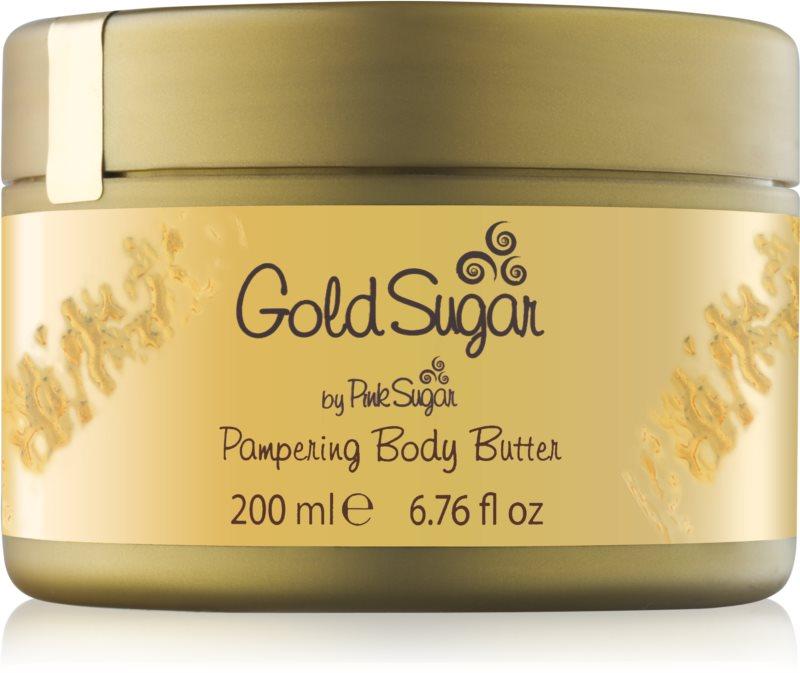 Aquolina Gold Sugar telový krém pre ženy 200 ml