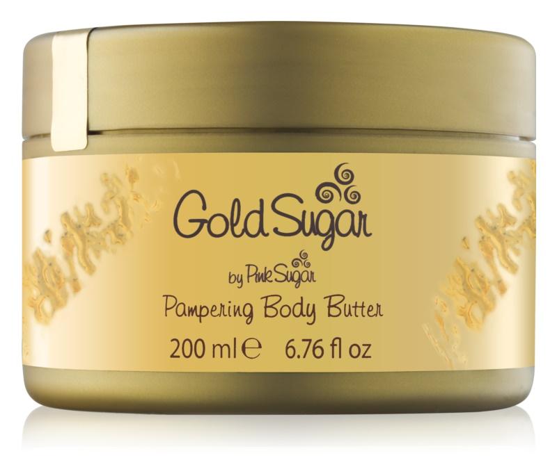 Aquolina Gold Sugar tělový krém pro ženy 200 ml