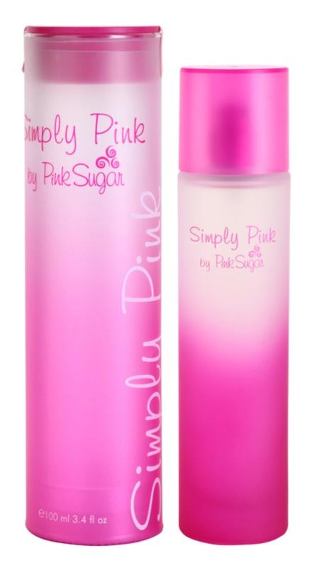 Aquolina Simply Pink toaletna voda za žene 100 ml
