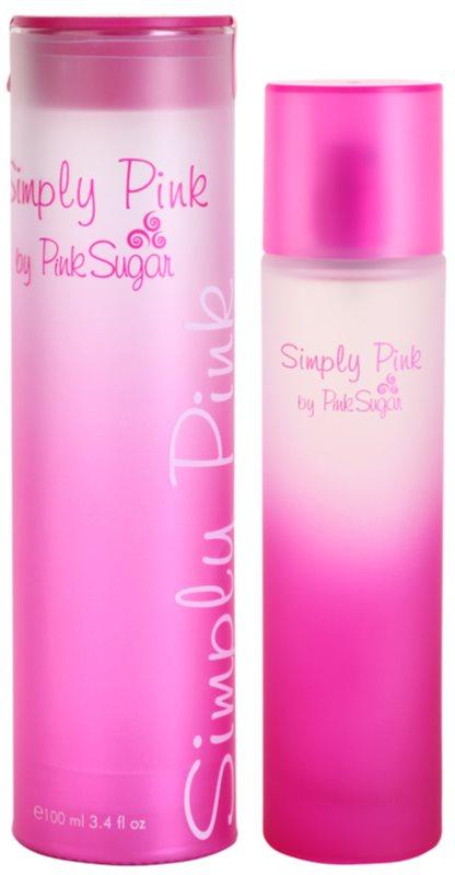 Aquolina Simply Pink woda toaletowa dla kobiet 100 ml