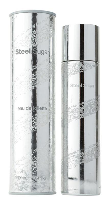 Aquolina Steel Sugar eau de toilette per uomo 100 ml