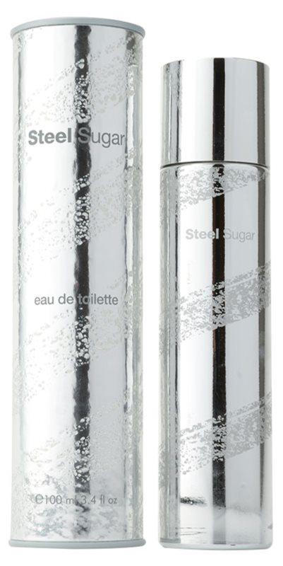 Aquolina Steel Sugar eau de toilette pour homme 100 ml