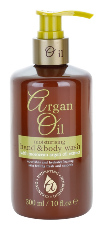 Argan Oil Hydrating Nourishing Cleansing поживне рідке мило з аргановою олією