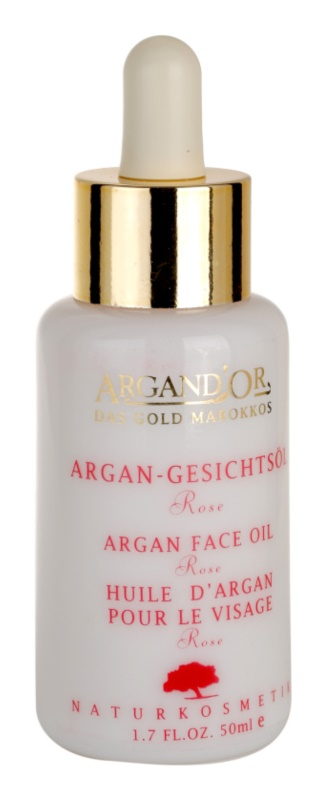 Argand'Or Care Argan Oil With The Content Of Essential Oil Of Rose