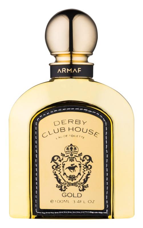 Armaf Derby Club House Gold Men Eau de Toillete για άνδρες 100 μλ