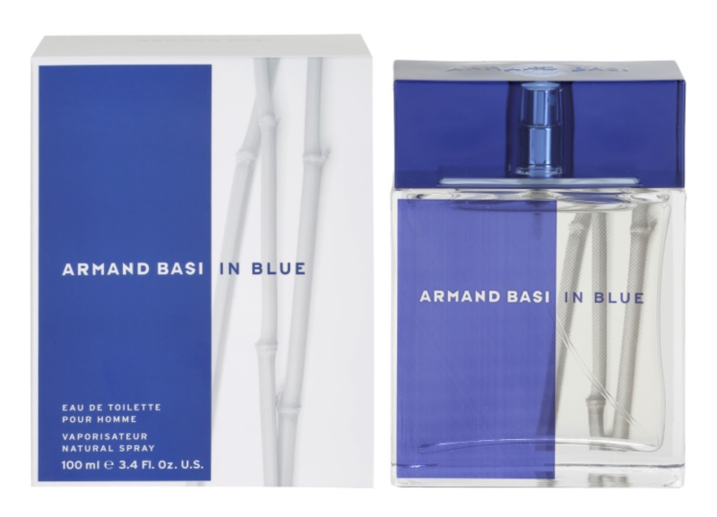 Armand Basi In Blue eau de toilette pour homme 100 ml