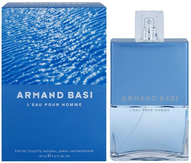 Armand Basi L'Eau Pour Homme Eau de Toilette para homens 125 ml