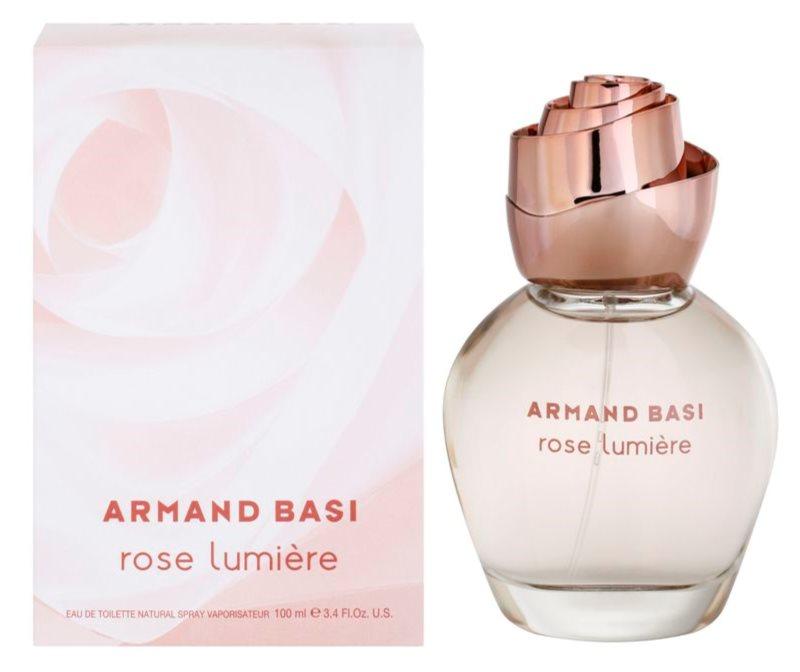 Armand Basi Rose Lumiere toaletní voda pro ženy 100 ml