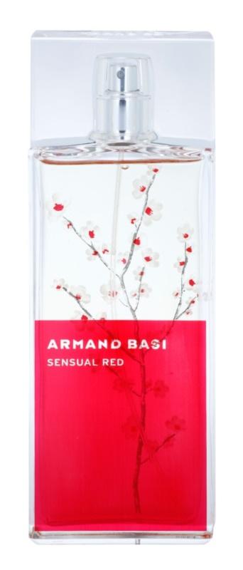 Armand Basi Sensual Red eau de toilette pentru femei 100 ml