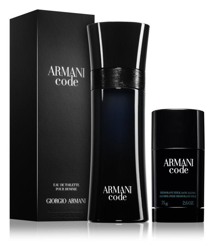 Armani Code wygodne opakowanie