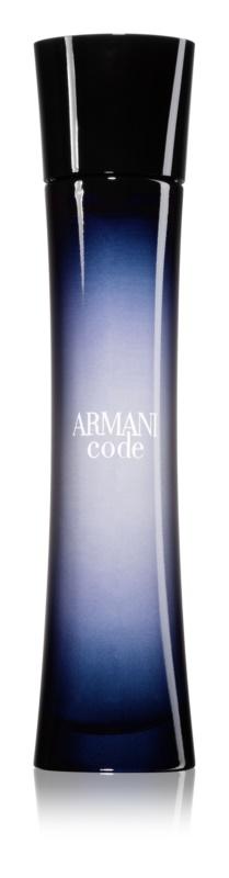 Armani Code Eau de Parfum voor Vrouwen  75 ml