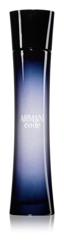 Armani Code woda perfumowana dla kobiet 75 ml