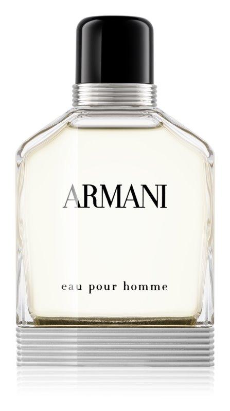 armani eau pour homme eau de toilette for men 100 ml. Black Bedroom Furniture Sets. Home Design Ideas