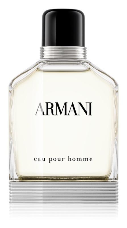 Armani Eau Pour Homme Eau de Toilette voor Mannen 100 ml