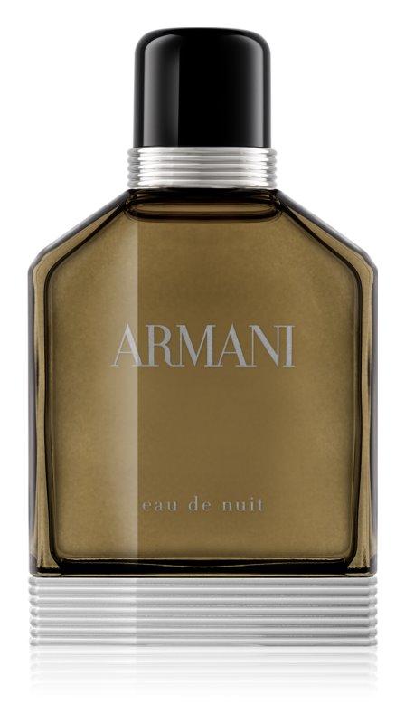Armani Eau De Nuit eau de toilette pour homme 100 ml