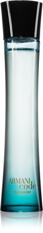 Armani Code Turquoise eau rafraîchissante pour femme 75 ml