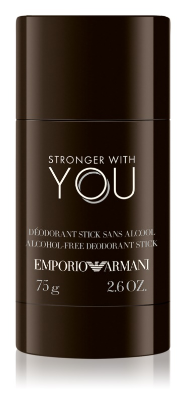 Armani Emporio Stronger With You dédorant stick pour homme 75 g