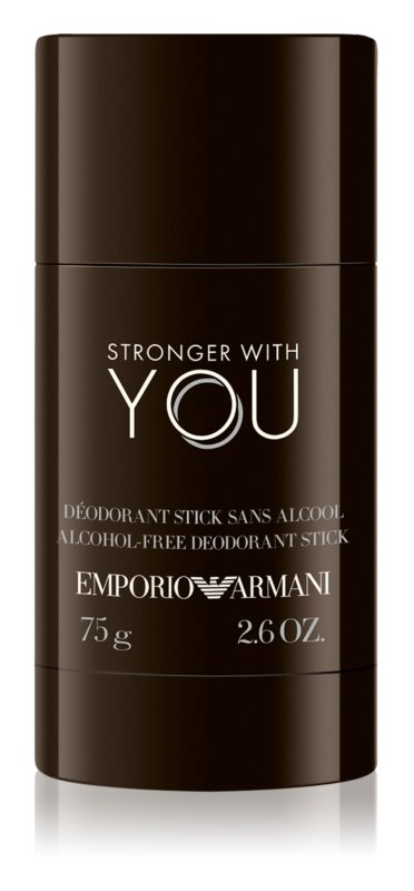Armani Emporio Stronger With You Deodorant Stick voor Mannen 75 gr