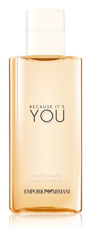 Armani Emporio Because It's You gel za tuširanje za žene 200 ml