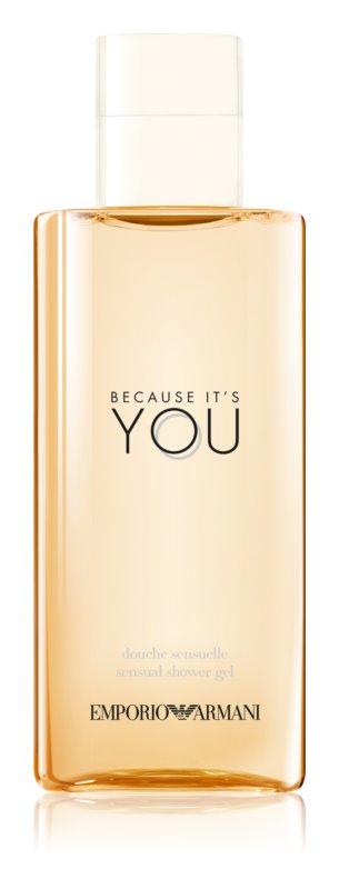 Armani Emporio Because It's You sprchový gel pro ženy 200 ml