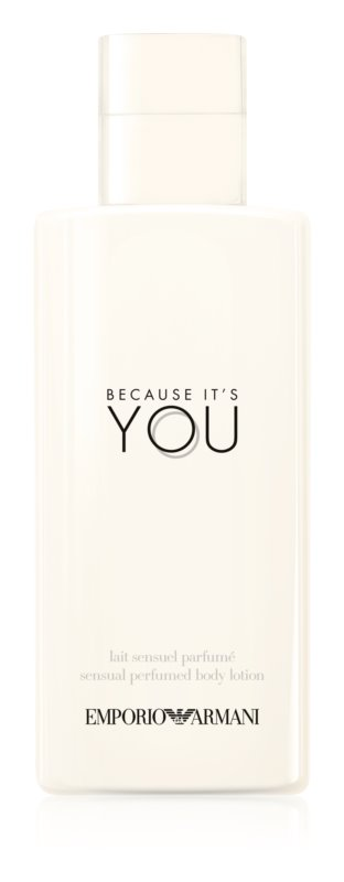 Armani Emporio Because It's You Body Lotion for Women 200 ml