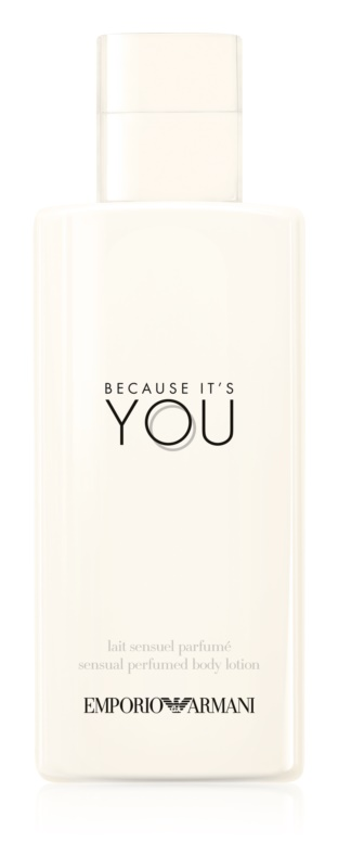 Armani Emporio Because It's You Bodylotion  voor Vrouwen  200 ml