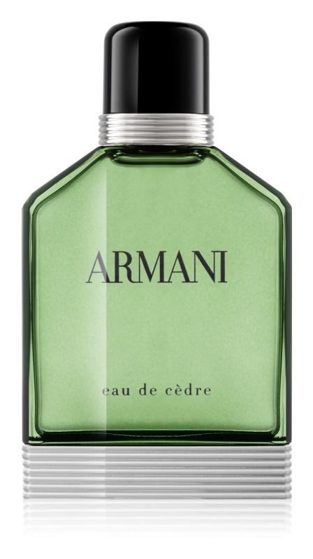 Armani Eau de Cèdre Eau de Toilette für Herren 100 ml
