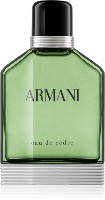 Armani Eau de Cèdre woda toaletowa dla mężczyzn 100 ml