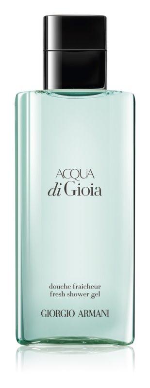 Armani Acqua di Gioia tusfürdő nőknek 200 ml