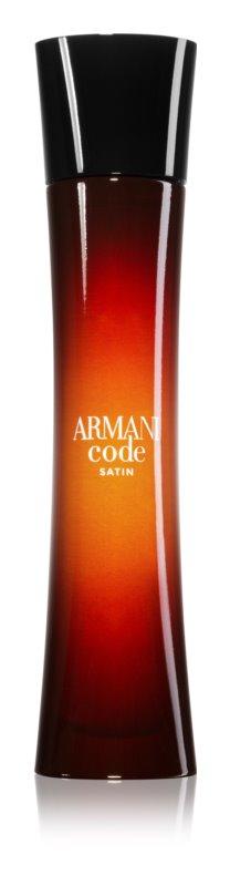 Armani Code Satin Eau de Parfum Damen 75 ml