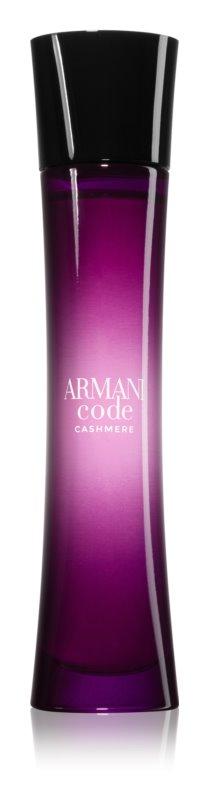 Armani Code Cashmere parfémovaná voda pro ženy 75 ml