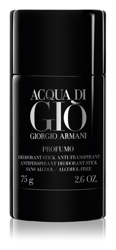 Armani Acqua di Giò Profumo Αποσμητικό σε στικ για άνδρες 75 γρ