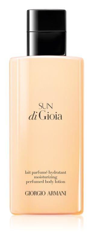Armani Sun di  Gioia lotion corps pour femme 200 ml