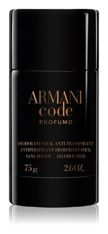 Armani Code Profumo deostick za muškarce 75 g
