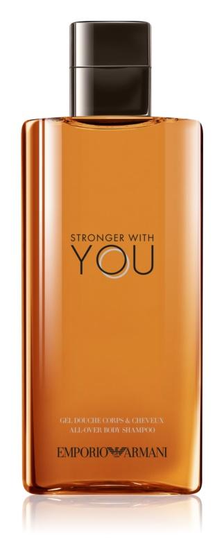 Armani Emporio Stronger With You gel za prhanje za moške 200 ml