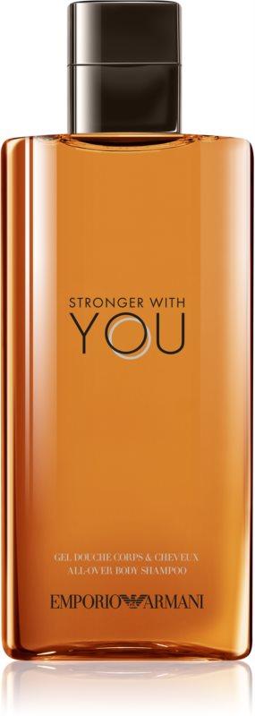 Armani Emporio Stronger With You sprchový gél pre mužov 200 ml