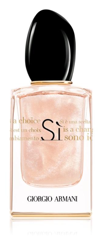 Armani Sì  Nacre Edition parfumovaná voda pre ženy 50 ml limitovaná edícia