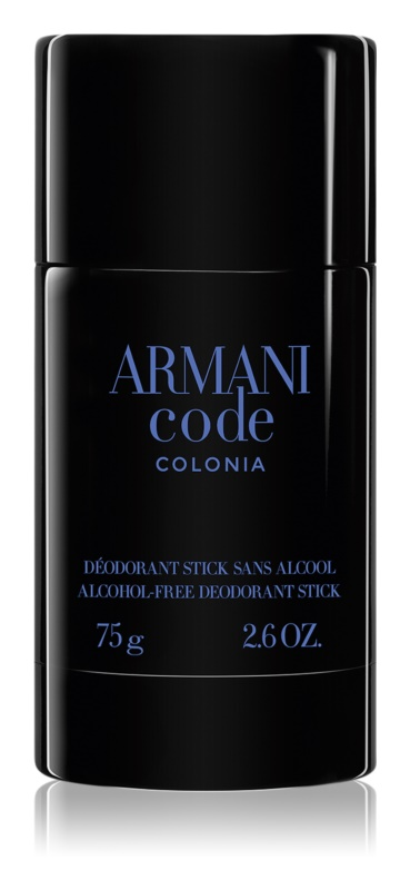 Armani Code Colonia Deodorant Stick for Men 75 g